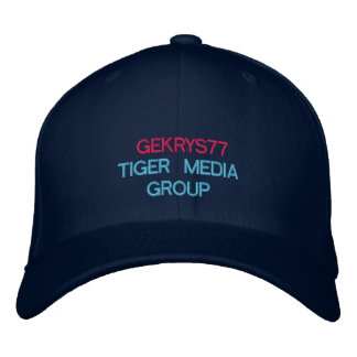 GEKRYS77 EMBROIDERED BASEBALL CAP