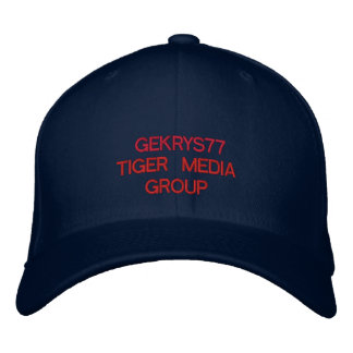 GEKRYS77 EMBROIDERED HATS