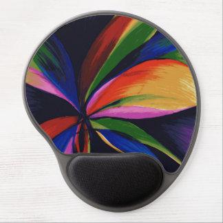 Gel abstracto colorido Mousepad del arte de Orig Alfombrilla De Raton Con Gel