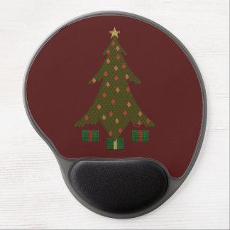 Gel acolchado Mousepad del navidad Alfombrillas Con Gel