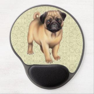 Gel amistoso Mousepad del perro del barro amasado Alfombrilla De Raton Con Gel