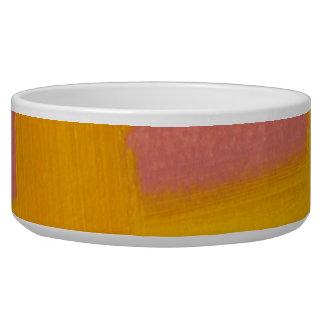 Gel Art Printed Dog Bowl