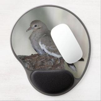 Gel cómodo Mousepad de la paloma Alfombrillas Con Gel