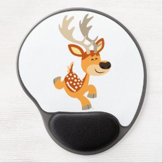 Gel de brinco Mousepad de los ciervos en barbecho  Alfombrilla De Ratón Con Gel