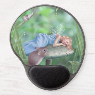 Gel de hadas Mousepad del arte el dormir de los Alfombrillas De Ratón Con Gel