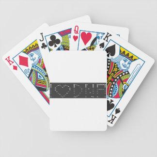 Gel de la DNA del corazón I Baraja Cartas De Poker