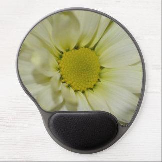Gel de oro Mousepad de la floración de la margarit Alfombrilla Con Gel