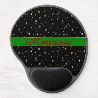 Gel de oro negro rojo verde Mousepad de las estrel Alfombrilla De Raton Con Gel