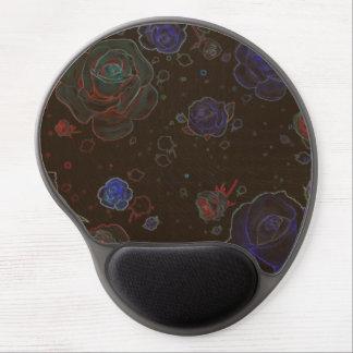 Gel del cojín de ratón de Brown de los rosas del Alfombrilla Gel