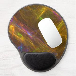 Gel ergonómico ligero Mousepad del fractal Alfombrillas De Raton Con Gel