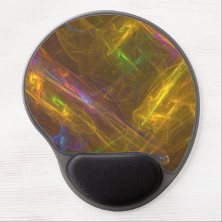 Gel ergonómico ligero Mousepad del fractal Alfombrillas Con Gel