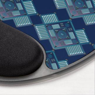 Gel ergonómico Mousepad de la búsqueda del alcohol Alfombrilla De Ratón Con Gel