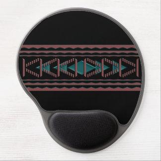 Gel ergonómico Mousepad de la tapicería del Alfombrillas Con Gel