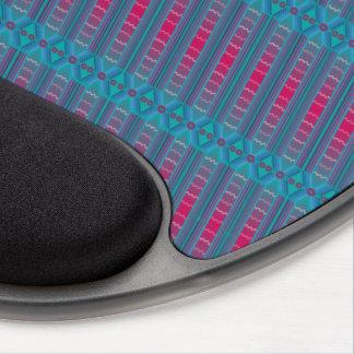 Gel ergonómico Mousepad de los azules alegres de Alfombrilla Con Gel