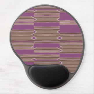 Gel ergonómico Mousepad de los cambios al azar Alfombrilla De Raton Con Gel