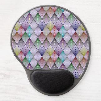 Gel ergonómico Mousepad del modelo del edredón del Alfombrilla Gel