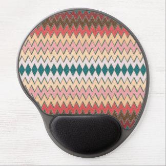 Gel ergonómico Mousepad del zigzag de Chevron del Alfombrilla Gel