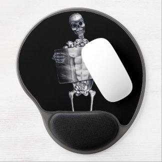 Gel esquelético Mousepad de la radiografía del pec Alfombrilla Gel