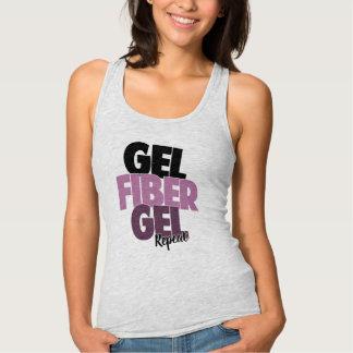 Gel, Fiber, Gel, Repeat - 3D Fiber Lashes Tank Top