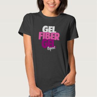 Gel, fibra, gel, repetición - la fibra 3D azota Playeras