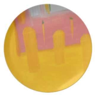 Gel Fine Art Dishware Plate