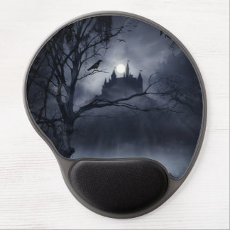 Gel gótico Mousepad de la fantasía de la noche Alfombrilla Con Gel