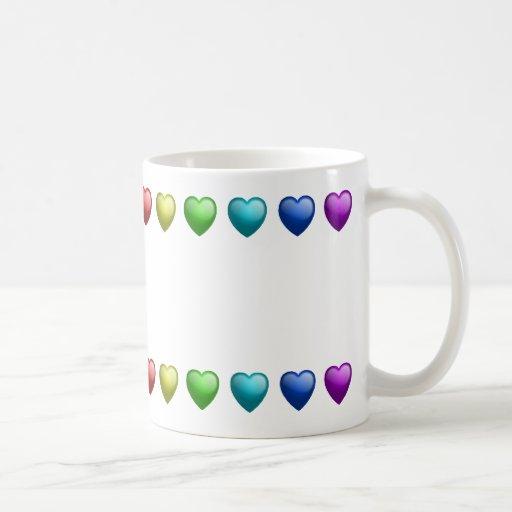 Gel Hearts mug