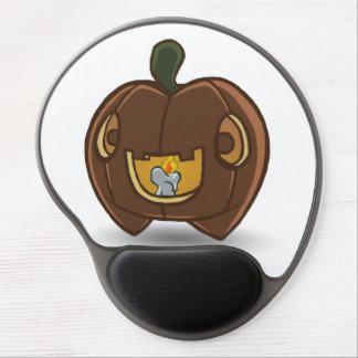 Gel lindo Mousemat de la calabaza Alfombrilla Con Gel
