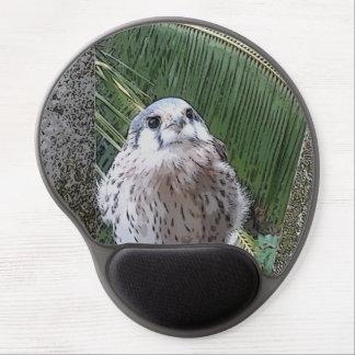 Gel lindo Mousepad de la impresión del halcón del  Alfombrillas De Raton Con Gel