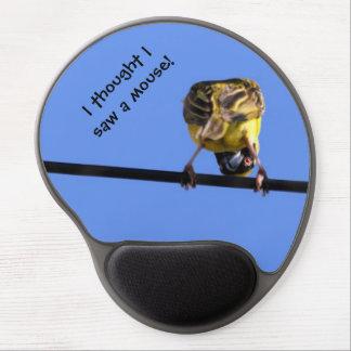 Gel lindo Mousepad del chirrido Alfombrilla Con Gel