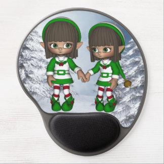 Gel mágico Mousepad del navidad del caramelo del d Alfombrillas Con Gel