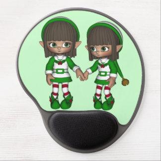 Gel mágico Mousepad del navidad del caramelo del d Alfombrilla De Ratón Con Gel