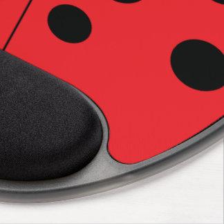 Gel moderno Mousepad de la mariquita Alfombrilla Con Gel