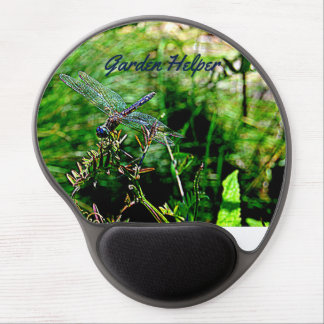 Gel Mouse Pad with Dragonfly Image