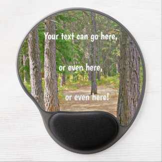 Gel mouse pad, your own image and text, gel mouse pad