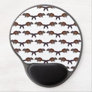 Gel Mousemat del frenesí del Chipmunk (elija el Alfombrillas De Raton Con Gel