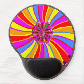 Gel Mousepad Abstract Flowers  Lowest Margin Store