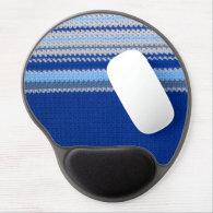 Gel Mousepad - Blue Stripes