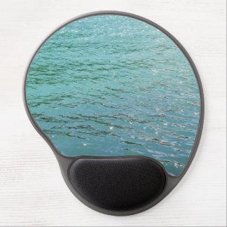 Gel mousepad blue water