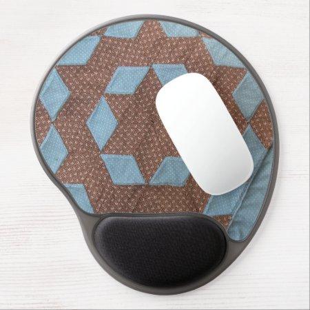 Gel Mousepad Castle Quilt Pattern 861278