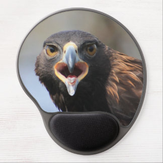 Gel Mousepad con Eagle de oro Alfombrillas De Ratón Con Gel