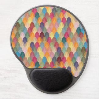 Gel Mousepad con el modelo colorido abstracto Alfombrillas Con Gel