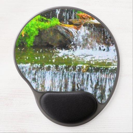 Gel Mousepad de la cascada Alfombrillas De Ratón Con Gel