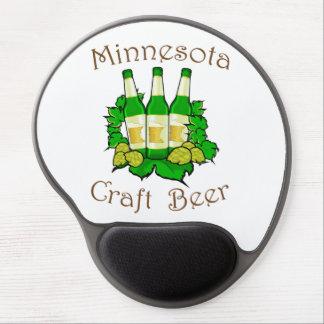 Gel Mousepad de la cerveza del arte de Minnesota Alfombrillas De Raton Con Gel