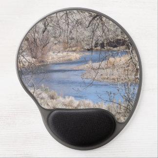 Gel Mousepad de la curva del río Alfombrillas Con Gel