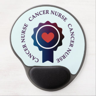 Gel Mousepad de la enfermera del cáncer Alfombrilla De Raton Con Gel