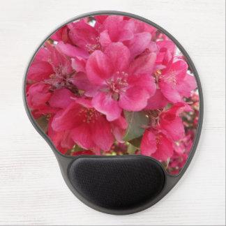 Gel Mousepad de la flor del tiempo de primavera Alfombrillas De Ratón Con Gel