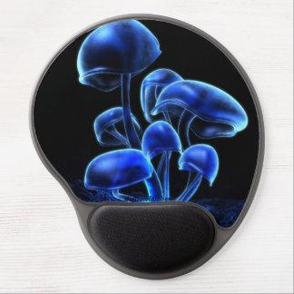 Gel Mousepad de la fluorescencia Alfombrillas De Ratón Con Gel