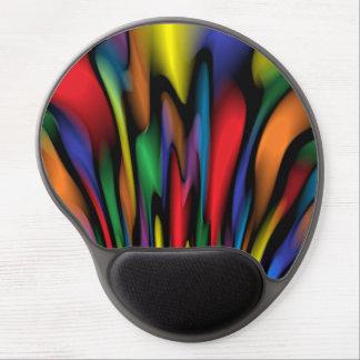 Gel Mousepad de la fuente del arco iris Alfombrillas De Raton Con Gel
