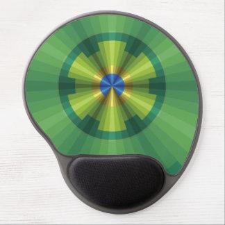 Gel Mousepad de la ilusión del pavo real Alfombrilla Con Gel